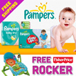 CRAZY DEAL! FREE TOY! Pampers Baby Dry Launch! Swaddlers Cruisers QUALITY DIAPERS - World No.1! Free Delivery!