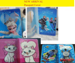Limited time sales Frozen Elsa Iconic Couple and 3D Passport Case Cover Holder Luggage Tag Card Hello Kitty Singapore Flag PREMIUM WATERPROOF BAGS★ Outdoor PVC Protection Cases Pouch