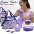 Tupperware Cosmo Violet - Tempat Bekal Makan Siang Edisi Ungu