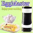 NEW! eggmaster Rollie Egg Tools Egg Boiler Egg Cook Cup Egg Master Cooking System Automatic Egg Cook
