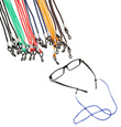 Colorful Eyewear Nylon Cord Reading Glass Neck Strap Eyeglass Holder