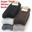 Women / Men Winter Thermal Socks * Thick * 3 or 5 pairs set