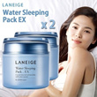 (Free shipping-Special Sale1+1)Laneige Water Sleeping Pack EX(80ml+80ml)/Laneige White Plus Renew Or