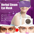 Long-lasting herbal steam eye mask electric heated eye care mask