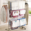 150pcs Laundry Drying Rack  English Manual  material Stainless and made in korea / Fol pole