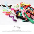 [youting-Fashion] 5pcs pack high quality trendy hair tie hair band hair ties hairbands wristlet trendy scarf