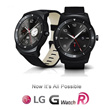 LG G Watch R LG-W110 Black Smart Watch Powered By Android Plastic OLED