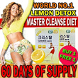 LAST DAY OFFER*[30 FREE 30 sticks]Beyoncé's Diet - Master Cleanse Diet★Real Lemon Detox★Garcinia Cambogia Extract Diet★