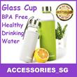 ♣Local Seller♣Wenbo Water Bottle♣Best Quality♣Best Selling in Korea Glass Water Bottle/ High borosilicate glass bottle/ Healthy drinking bottle/ Glass Water Bottle/ BPA Free
