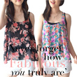 **NEW ARRIVAL-BRANDED RUFFLED TANKTOP**