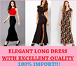 NEW UPDATE 18th JULY COLLECTION ★ LONG DRESS EXCELLENT QUALITY!!! Elegance Cute Exclusive Korea IMPORT Dress