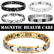 Free shipping Premium Stainless Steel Germanium Ion Balance Health Bracelet Series: Helps Relieve Stress Fatigue Power Titanium Magnetic Tourmaline Fashion Sports Health Magnets Wristband