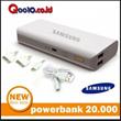 Powerbank Samsung 20000mAh 2output