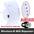 【Happy New Year Gift】Wireless-N Wifi Repeater 802.11N/B/G Network Router Range Expander 300M 2dBi Ante