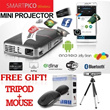 [TERBARU] SmartPICO + Free gift[TRIPOD+MOUSE] Wireless Android Mini Projector OS Android Jelly Bean / 8G Built-In Memory/ PRODUCT KOREA