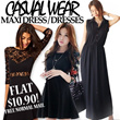 ★ SG Based  ★★ FLAT PRICE $10.90 FOR ALL★★ 【18/10 Update】  Best ★★ Selling Maxi Dress ★★ CASUAL SHORT LONG DRESS JUMPER ROMPER DRESSES - FREE SHIPPING