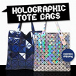 ★ NEW PREMIUM QUALITY ★Holographic totebag Japan 3d art bag Paperplanes SE Special Edition Boutique Quality Tote Bag/ Handbag / Brand Sling Bag / clutch/Great gift /StarBags / xmas gift /