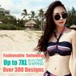 【NEW】S- 7XL Fashionable Swimwear 2014 ♥ Hot Sexy bikinis ♥ Uk Style Swimsuit ♥ More Than 300 Style!