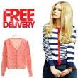 ♥♥Korean Style Cardigan♥♥ ★ FREE SHIPPING ★ Striped Cardigan Sweater Jacket Top Office Outer Wear Knitwear