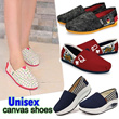 New Style★Unisex Fashion Canvas Shoes★Couple shoes★Casual Shoes★Flats shoes★Women shoes★Men Shoes★School Shoes★dress shoes★big size★sex Singapore★cloth shoes★sandals shoes