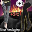 ★Stock In SG /Free Shipping/Buy 1 Get 1 Free ★Keep Warm below zero temperatures/ Winter Leggings/Winter Trip Warm/Napping Jean Leggings/Winter Jean Leggings/Fur Leggings