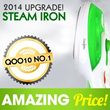 [Luchen Steam Iron]UPGRADE Power Steam iron! WaterJet iron! Convenient and easy to use