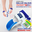 [BEWARE FAKE][More Styles]1Pair Big Toe Bunion Night Splint Straightener Foot Pain Relief Hallux Valgus-With Verification Unique Code