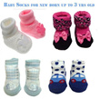 *Beautiful NEW Baby Socks. Apr Promotion Sale for NB to 3 YRS old*. New arrivals. Anti-slip socks.
