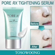 Amazing Effect ★ [TOSOWOONG] Pore RX Tightening Serum / Silky-smooth skin/shrink pore Serum/amazing texture change
