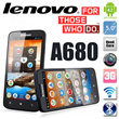 "Lenovo A680| large 5"" display and powerful quad core processor