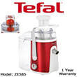 [TEFAL] JUICE EXTRACTOR * WHOLE APPLE * EASY FRUIT * ZE585 * 1 YEAR WARRANTY!!!
