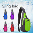 Only $8.99 Clearance SALE ▶Multifunctional Sling Bag◀GBB-Casual Sling bag/ Hip sack/ cross Bag/ backpack-mens bags / luggage/ Travel bag/ unisex