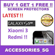 ♣BUY1GET1FREE♣ Screen Protector Wide Variety S5/NOTE3/S4/iPhone5s/iPadAir/iPadMini/Xiaomi/RedMi/Xiaomi3/RedmiNote