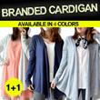 [Buy 1 Get 1]*CARDIGAN BRANDED-4COLORS_**Comfortable material