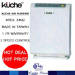 [KUCHE] AIR PURIFIER * UPTO 24M2 COVERAGE * MADE IN TAIWAN * 1 YEAR LOCAL WARRANTY!!