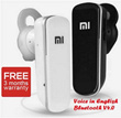 [SMALLEST] Xiaomi Mini Bluetooth wireless handsfree stereo V4.0 headset ENGLISH narration for smartphone/apple iphone/Samsung/HTC/Sony/Xiaomi/Acer earphone