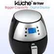 KUCHE AIR FRYER(KAFD311)- BIGGER CAPACITY! 80% LESS FAT! - 1 YEAR WARRANTY *GERMAN BRAND*