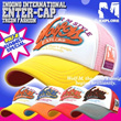 K-POP Idol Styel - Wolf-M WaterCap Base Ball Cap (Trucker Hat) [E100]+Free Gift
