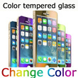 ★New Arrivals★First sale Metal color Tempered glass/High Quality/Color iphone/First sale Cheap price/Genuine Warranty