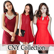New /Chinese New Year Dress/Work OL Dress/Casual Red Dres