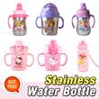 ★Characters Stainless Water Bottle★ hello kitty pororo frozen sofia poli thomas princess larva rilakkuma