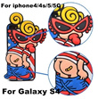 11Styles Soft Silicone Hysteric Mini Nipple Sister Shell Cover Case For iphone4/5/5C Galaxy S4/S3