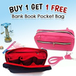 Hot promo buy 1 get 1 free Bank Book Pocket Color