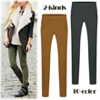 [Free-shipping] skinny pants 2-kinds/light material/Excellent stretch/women fashion women clothing winter/skinny/leggings