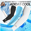 [ADIDAS] Cooling Athletic Sport Skins Arm Sleeves Sun Protective UV Cover Golf