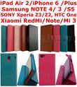 [Quality+Cheap] Samsung Galaxy Xiaomi Redmi Note Apple iPad Air Mini 1 2 3 4 Edge Mi3 Mi 3 S5 RedmiNote HTC One M8 SONY XPERIA Z2 Z3 iPhone 5C 6 Plus Case Casing Cover