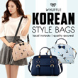 [Whuffle] //Korean// Assorted Bags/Korean/Taiwan Tote/Classic/Celebrity Bag/Work Bag Premium PU Leather Quality