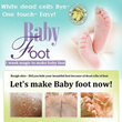 Buy 6 Get 1 Free! Top Selling 7 Days Magic Baby Skin Foot Peeling Mask