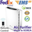 KOREA Air Purifier Fresh Air washer Cleaner Humidifer WACU150 WACU300 WSC-355BB 505BW SSP System 6 Steps Filter Natural Cleaner Haze Anti virus