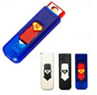 Superman USB Electronic Cigarette Lighter - Rechargeable Eco-Friendly Lighter Power Battery Cigarette Cigar Flameless